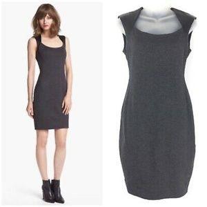 bailey44 gray dress